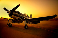 F4U Corsair Sunrise
