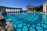 Outdoor pool at Hearst Castle, San Simone, CA