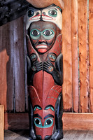 Tlingit Totem isnside the Lodge
