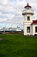 Mukilteo Lighthouse at Ferry Crossing