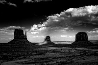 Monument Valley in B & W