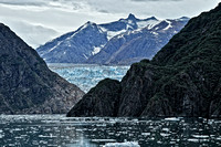 Sawyer Glacier at the end of Tracy Arm Fjord, Alaska
