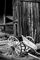 Deserted Wagon in Bodie State Park