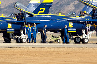 Blue Angles Walk Down