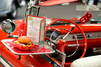 Bob's Big Boy Drive In Tray on 56 Chev Convertible