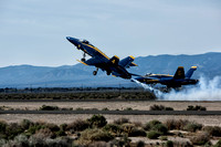 Blue Angel Rapid Climb after takeoff